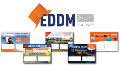3 Convenient Options For Marketing Exede with Every Door Direct Mail®